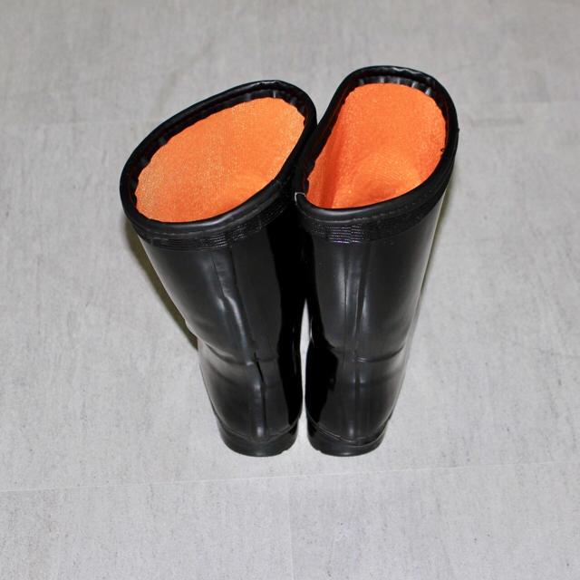 美品 Guts Worker 作業靴 レインブーツ 長靴 25.5cm ブラック メンズの靴/シューズ(長靴/レインシューズ)の商品写真