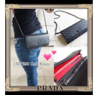 プラダ(PRADA)のPRADA プラダ 伊勢丹購入 チェーンウォレット 長財布 (財布)