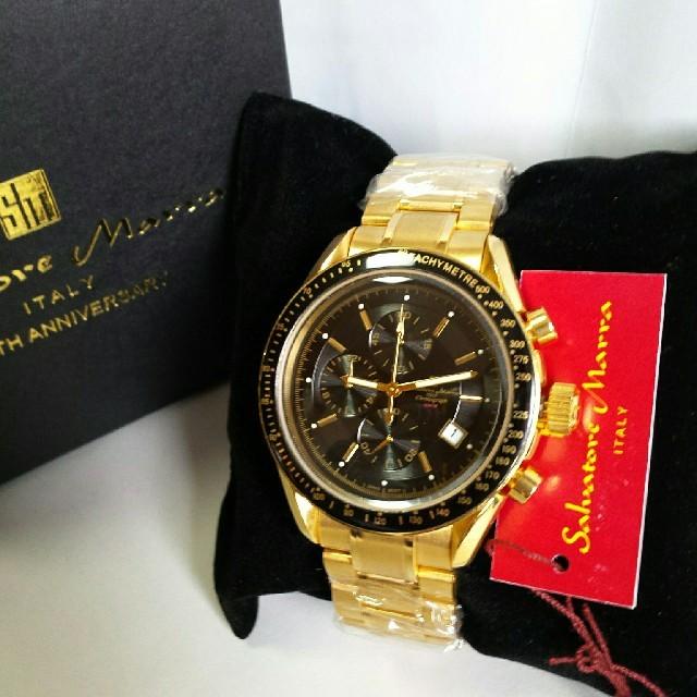 人気爆発中の『ゴールドIPコーティング』 メンズの時計(腕時計(アナログ))の商品写真