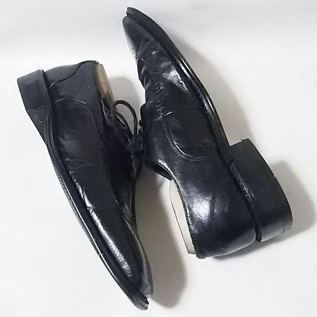 Gucci(グッチ)の限定最高傑作!グッチ高級イタリア製牛革レザーウィングチップシューズ黒人気モデル! メンズの靴/シューズ(ドレス/ビジネス)の商品写真