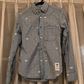 アディダス(adidas)のadidasチェックシャツ(シャツ/ブラウス(長袖/七分))