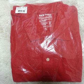 セシール(cecile)のお値引き&送料込!BIG SIZE セシール 7L 真っ赤なポロシャツ(半袖)(ポロシャツ)