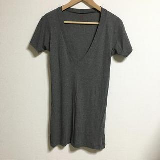 エルエヌエー(LnA)のほぼ新品♡DeepVネックTシャツ(Tシャツ(半袖/袖なし))