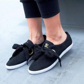 アディダス(adidas)の【要コメント】アディダス リレースロウ リボンスニーカー(スニーカー)