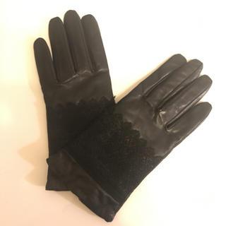 アンタイトル(UNTITLED)のアンタイトル 超美品 本革手袋(手袋)