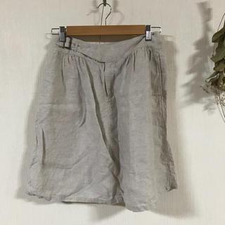 ムジルシリョウヒン(MUJI (無印良品))の無印良品 リネン スカート(ひざ丈スカート)