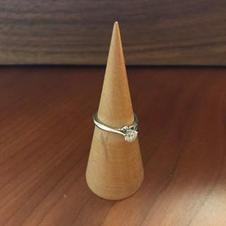 ダイヤモンド・プラチナリング 美品(リング(指輪))