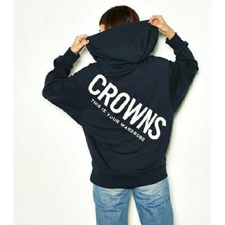 ロデオクラウンズワイドボウル(RODEO CROWNS WIDE BOWL)の新品✩RODEO CROWNS✩RCWB✩スランディングロゴパーカー  (パーカー)