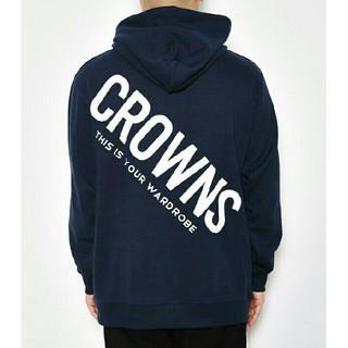 ロデオクラウンズ(RODEO CROWNS)の今期新作✩RODEO CROWNS✩RCWB✩メンズスランディングロゴパーカー (パーカー)