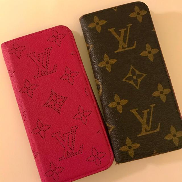 ヤフー ショッピング iphone8 ケース - LOUIS VUITTON - ルイヴィトンマヒナピンクモノグラムピンク二個セットの通販 by mi's shop|ルイヴィトンならラクマ