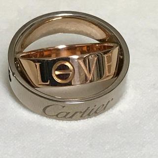 カルティエ(Cartier)の❤️美品❤️#56カルティエ ラブリング☆シークレットラブ ❤️(リング(指輪))