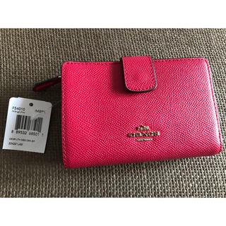 コーチ(COACH)の【新品タグ付き】COACH コーチ 二つ折り財布 (財布)