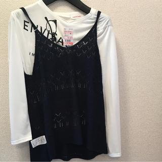 シマムラ(しまむら)のしまむら 女児 トップス2点セット 150(Tシャツ/カットソー)