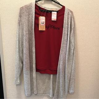 シマムラ(しまむら)のしまむら 女児  トップス2点セット 160(Tシャツ/カットソー)