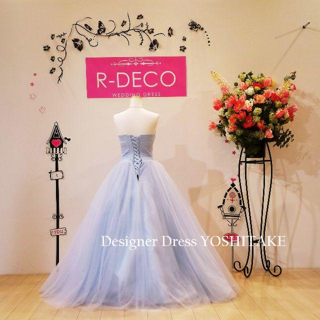 ウエディングドレス(アウトレット品) カラードレス 披露宴 レディースのフォーマル/ドレス(ウェディングドレス)の商品写真