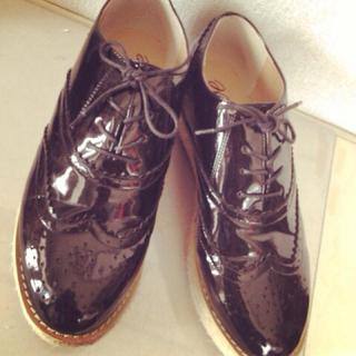 フェリシモ(FELISSIMO)の厚底マニッシュシューズの会 / 靴(ローファー/革靴)