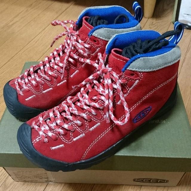 KEEN(キーン)のKEEN ジャスパー トレイル レッド 23cm レディースの靴/シューズ(スニーカー)の商品写真
