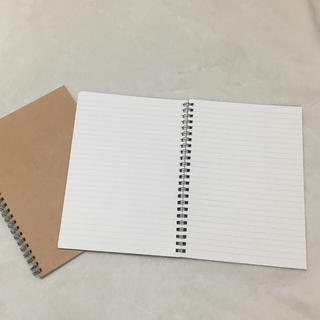 ムジルシリョウヒン(MUJI (無印良品))の無印良品 リングノート2冊セット(ノート/メモ帳/ふせん)