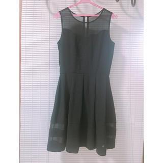 パウダーシュガー(POWDER SUGAR)のPOWDERSUGAR黒ドレス(その他ドレス)