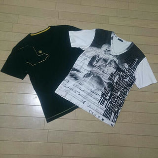 テットオム(TETE HOMME)の美品■TETE HOMME テットオム Vネック半袖Tシャツ 2着セット■(Tシャツ/カットソー(半袖/袖なし))