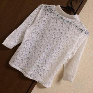 ジーユー(GU)の◯ 総レース プチハイネック ◯(Tシャツ(長袖/七分))