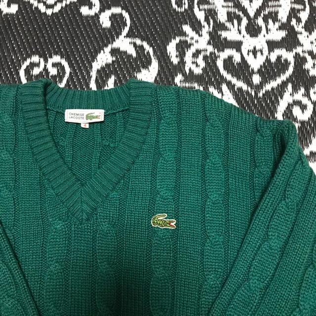 LACOSTE(ラコステ)のラコステ セーター ニット グリーン メンズのトップス(ニット/セーター)の商品写真