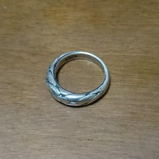アンプジャパン(amp japan)のAMP JAPAN BRAIDED SILVER RING(リング(指輪))