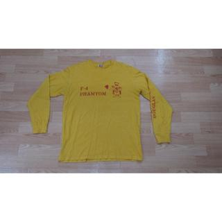 バズリクソンズ(Buzz Rickson's)のバズリクソン ロンT Lサイズ 黄色 F4 ファントム(Tシャツ/カットソー(七分/長袖))
