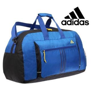 アディダス(adidas)の値下■アディダス*ボストンバッグ60cm ブルー☆修学旅行・移動教室に(ボストンバッグ)