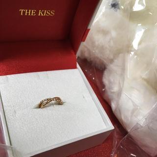 ザキッス(THE KISS)の再値下!The kiss ピンキーリング 指輪3号 新品未使用(リング(指輪))
