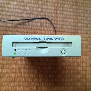 オリンパス(OLYMPUS)のisaotan様専用SCSI MOドライブ 640MB turbo2 オリンパス(PC周辺機器)