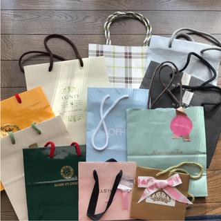 アフタヌーンティー(AfternoonTea)の小サイズ紙袋セット売り(ショップ袋)