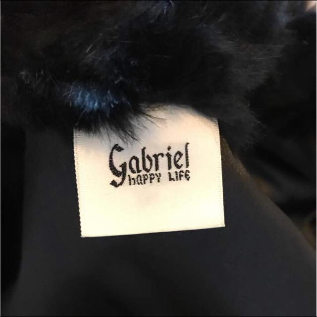 【ガブリエル】ラビットファーコート(ブラック) レディースのジャケット/アウター(毛皮/ファーコート)の商品写真