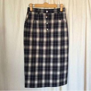 ルカ(LUCA)のLUCA/LADY LUCK LUCA チェック タイトスカート(ひざ丈スカート)