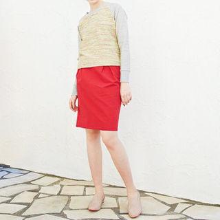 ルカ(LUCA)のLUCA タイトスカート(ひざ丈スカート)