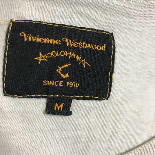 Vivienne Westwood(ヴィヴィアンウエストウッド)のアングロマニアTシャツ♡MILKチェリー柄ニットワンピース レディースのトップス(Tシャツ(半袖/袖なし))の商品写真