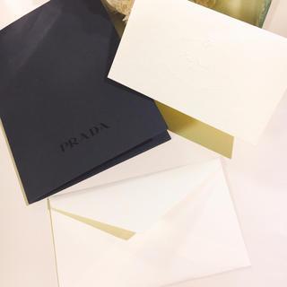 プラダ(PRADA)のプラダ メッセージカード(カード/レター/ラッピング)