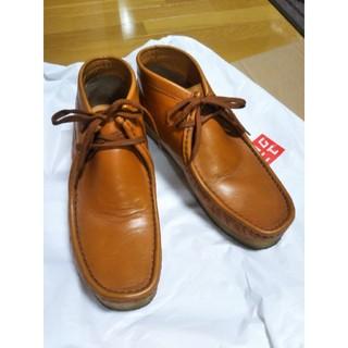 ゴールデンリトリバー(Golden Retriever)のブーツ 本皮 革靴 27cm ゴールデンレトリバー ワラビーブーツ(ブーツ)