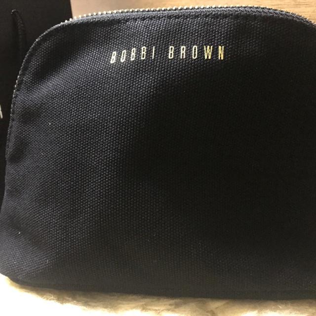 BOBBI BROWN(ボビイブラウン)のボビィブラウン顧客クリスマス限定ブラックデニムポーチ レディースのファッション小物(ポーチ)の商品写真