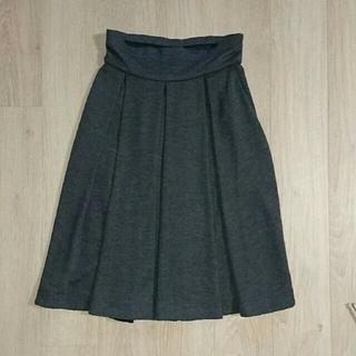 ルイヴィトン(LOUIS VUITTON)のルイヴィトン/ウールフレアースカート(ひざ丈スカート)
