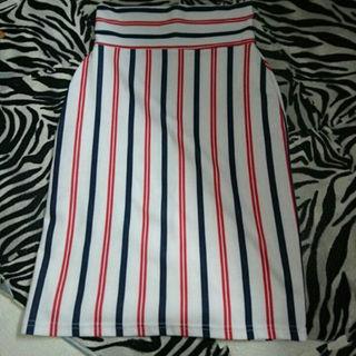 ひとみ様専用GRL マルチカラータイトスカート(ひざ丈スカート)