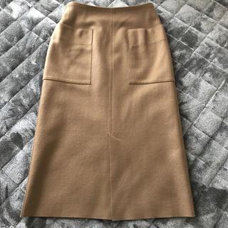 プラージュ(Plage)の美品 Plage 今季 COMPRESSIONタイトスカート(ひざ丈スカート)