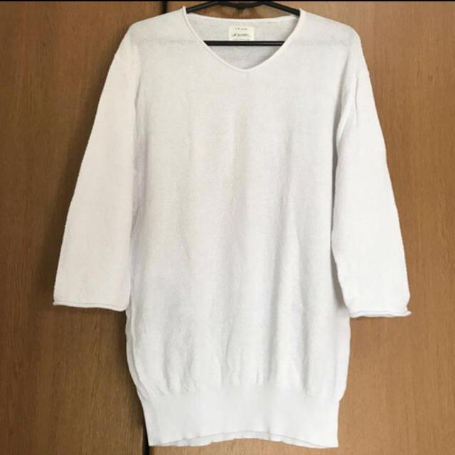 JUNRED(ジュンレッド)の高級ブランド LE JUN 7部袖 ニット 60%OFF メンズのトップス(ニット/セーター)の商品写真