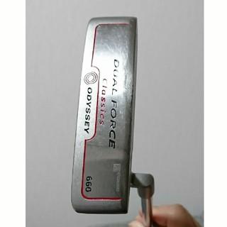 キャロウェイゴルフ(Callaway Golf)のオデッセイ パター デュアルフォースクラッシック660(クラブ)