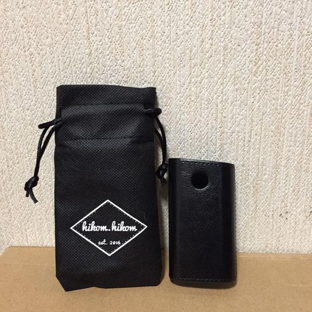 glo ケース ブラック PUレザー 新品 メンズのメンズ その他(その他)の商品写真