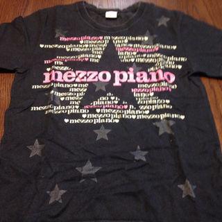 メゾピアノ(mezzo piano)のキラキラTシャツ(Tシャツ/カットソー)