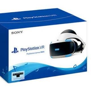 プレイステーションヴィーアール(PlayStation VR)の【新品未開封】PSVR 16003 新型 camera同梱(家庭用ゲーム機本体)