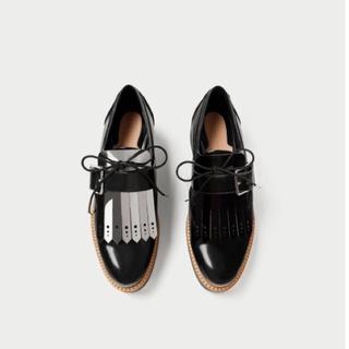 ザラ(ZARA)の【送料込】ZARA♡オックスフォードシューズ(ローファー/革靴)