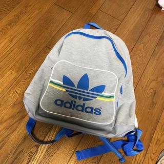 アディダス(adidas)のadidas 美品 リュック グレー(リュック/バックパック)