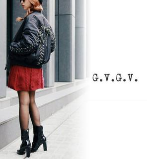 ジーヴィジーヴィ(G.V.G.V.)の新品 G.V.G.V.正規品 LACE UP MA-1 ブルゾン 【40 L黒】(ブルゾン)